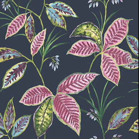 Leaves, Navy