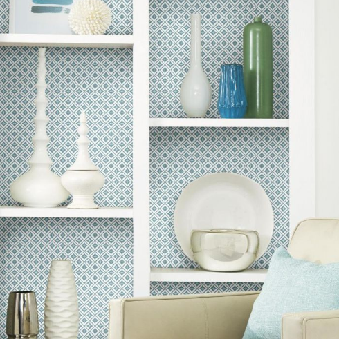 pale blue wallpaper