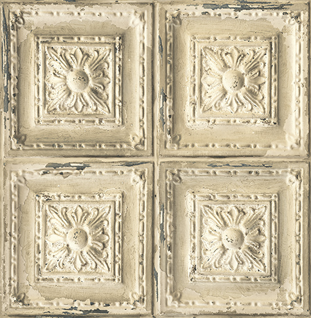 Ceiling Tiles Cream SAMPLE