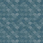scallop metallic wallpaper