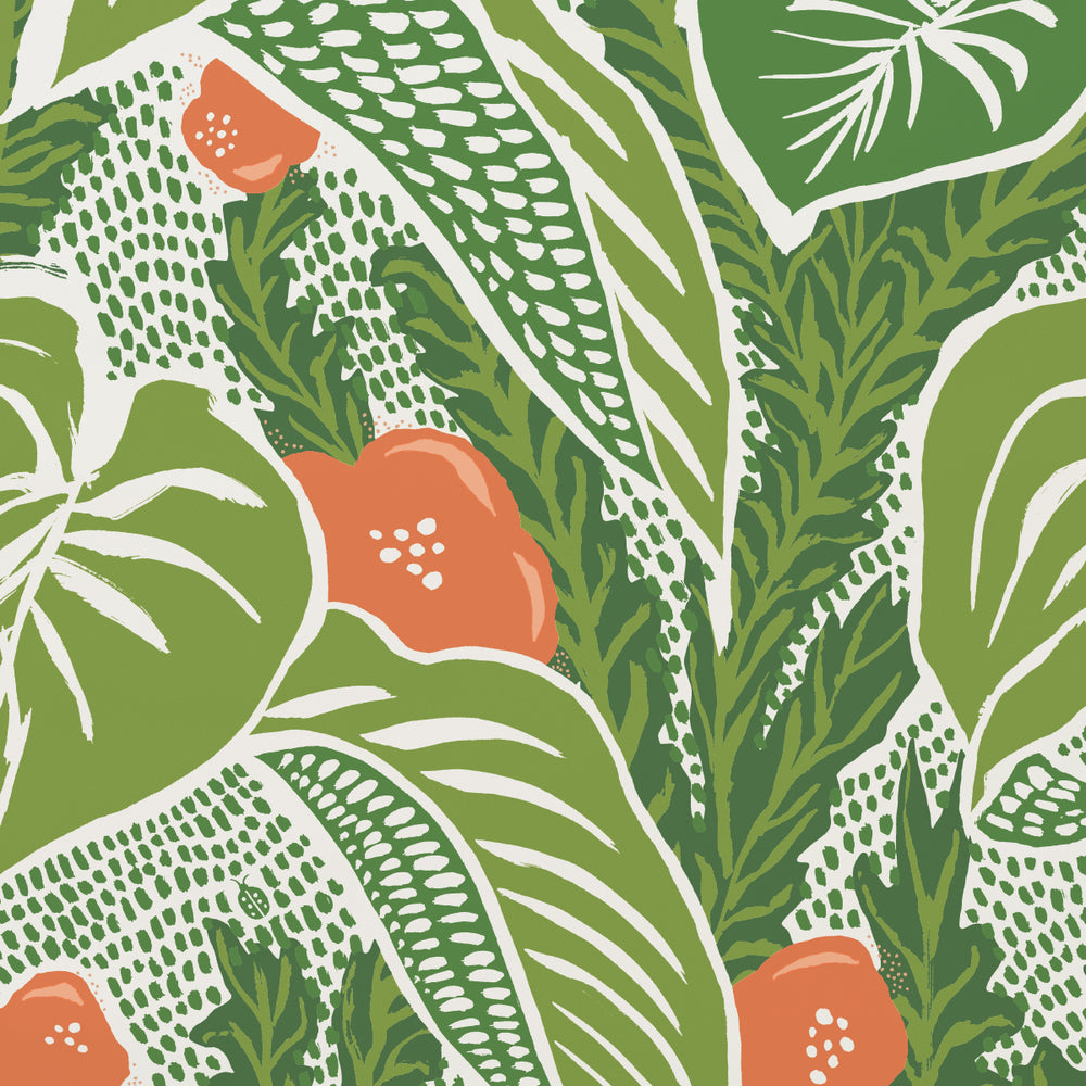 whimsical palm wallpaper