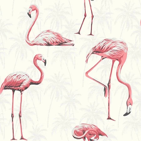 Flamingos White