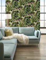 Statement Banana Leaf Wallpaper