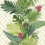tropical vine wallpaper