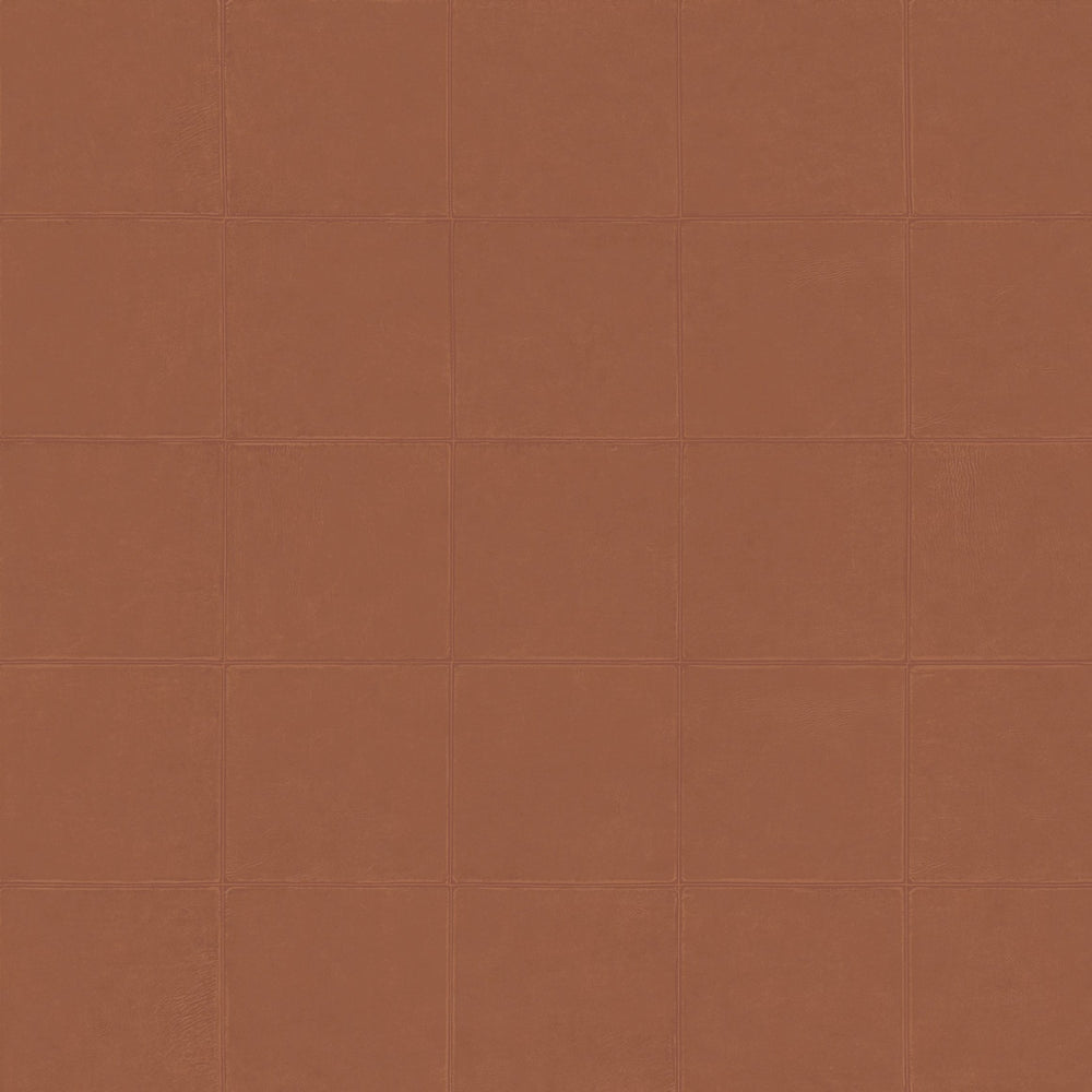 rust leather like vinyl wallpaper