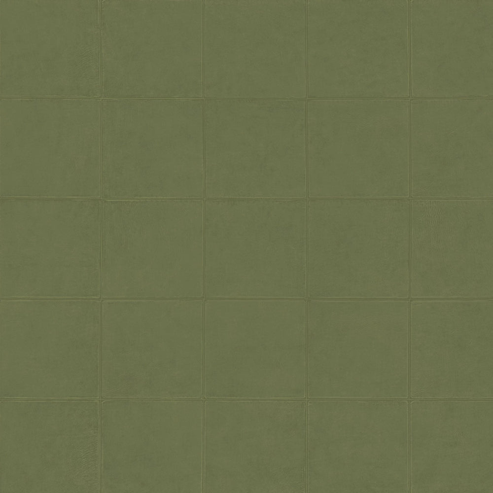 olive green leather like wallpaper