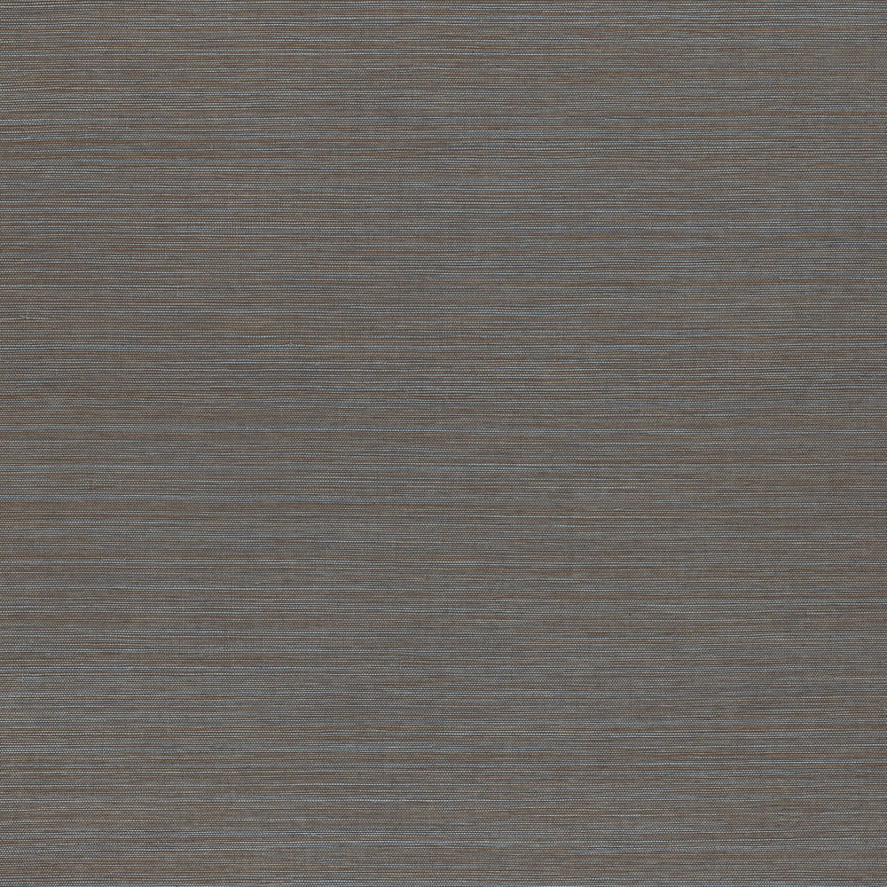 Rust Blue vinyl grasscloth wallpaper