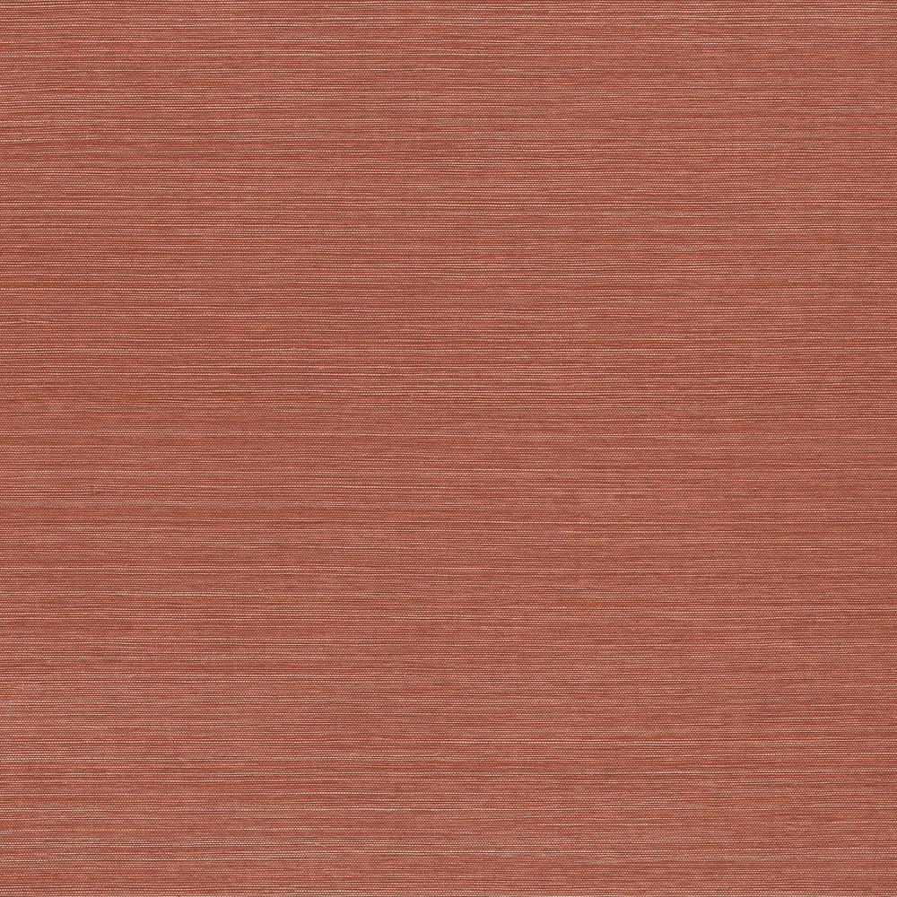Paprika vinyl grasscloth wallpaper
