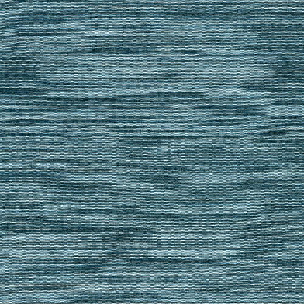 turquoise vinyl grasscloth wallpaper