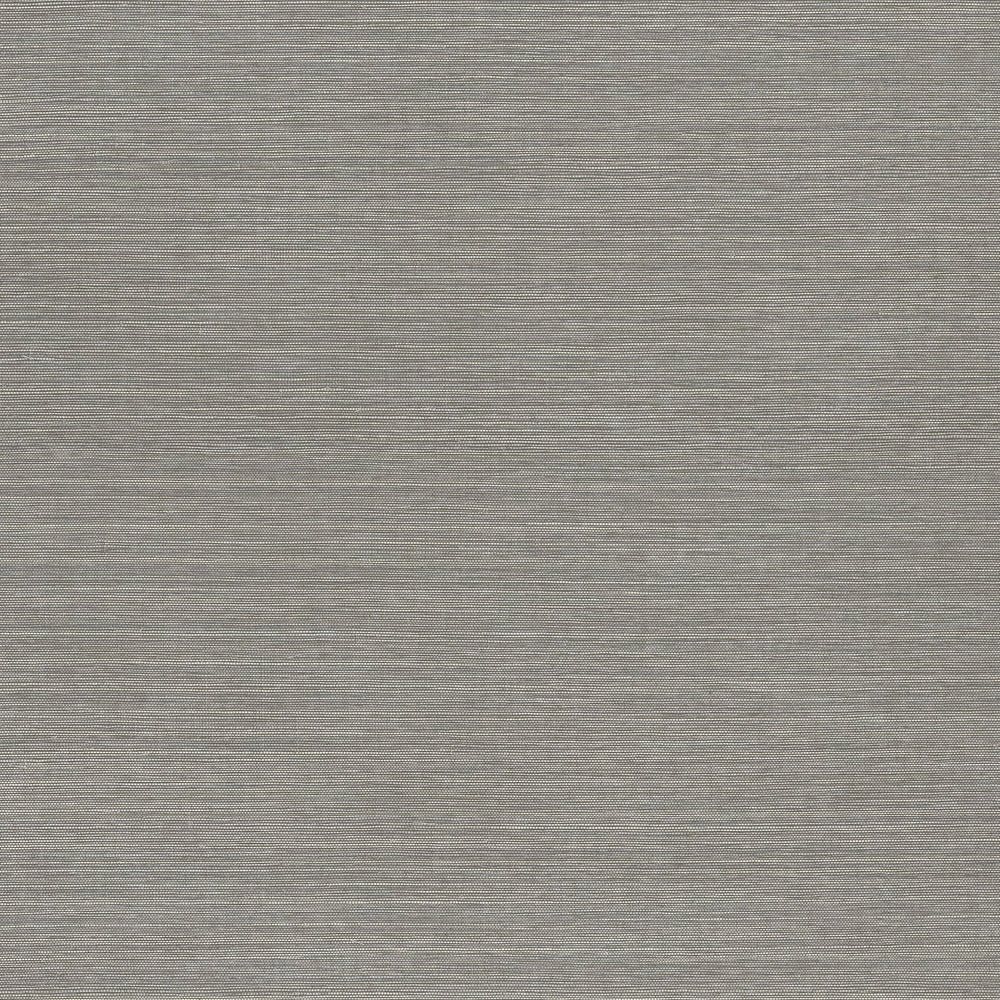 Slate vinyl grasscloth wallpaper