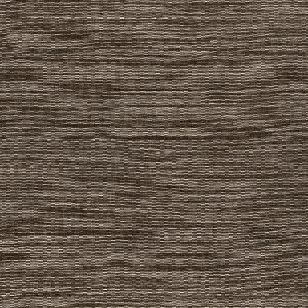 Brunette vinyl grasscloth wallpaper