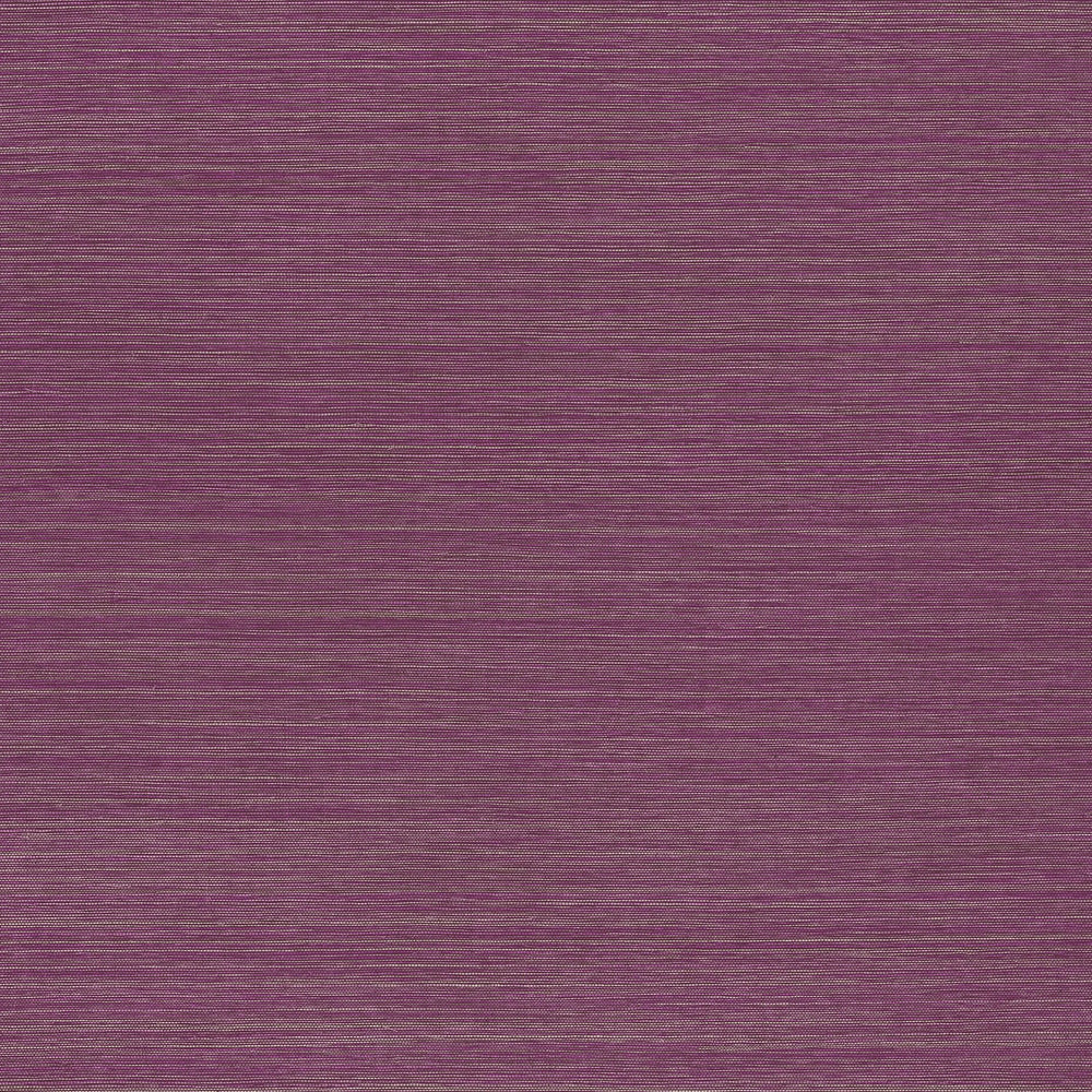 Magenta vinyl grasscloth wallpaper