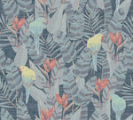 tropical texture vintage wallpaper