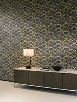 chic vinyl wallcovering