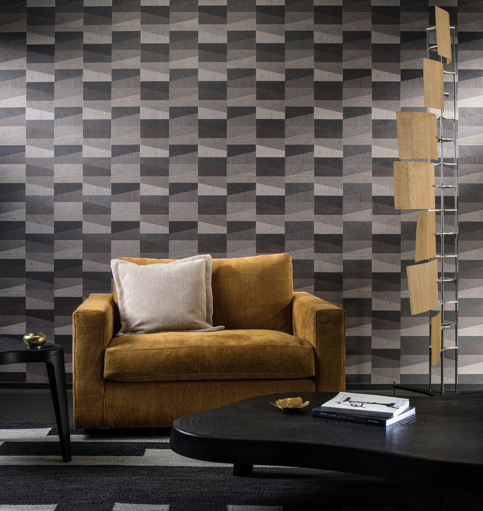 sophisticated vinyl wallcovering
