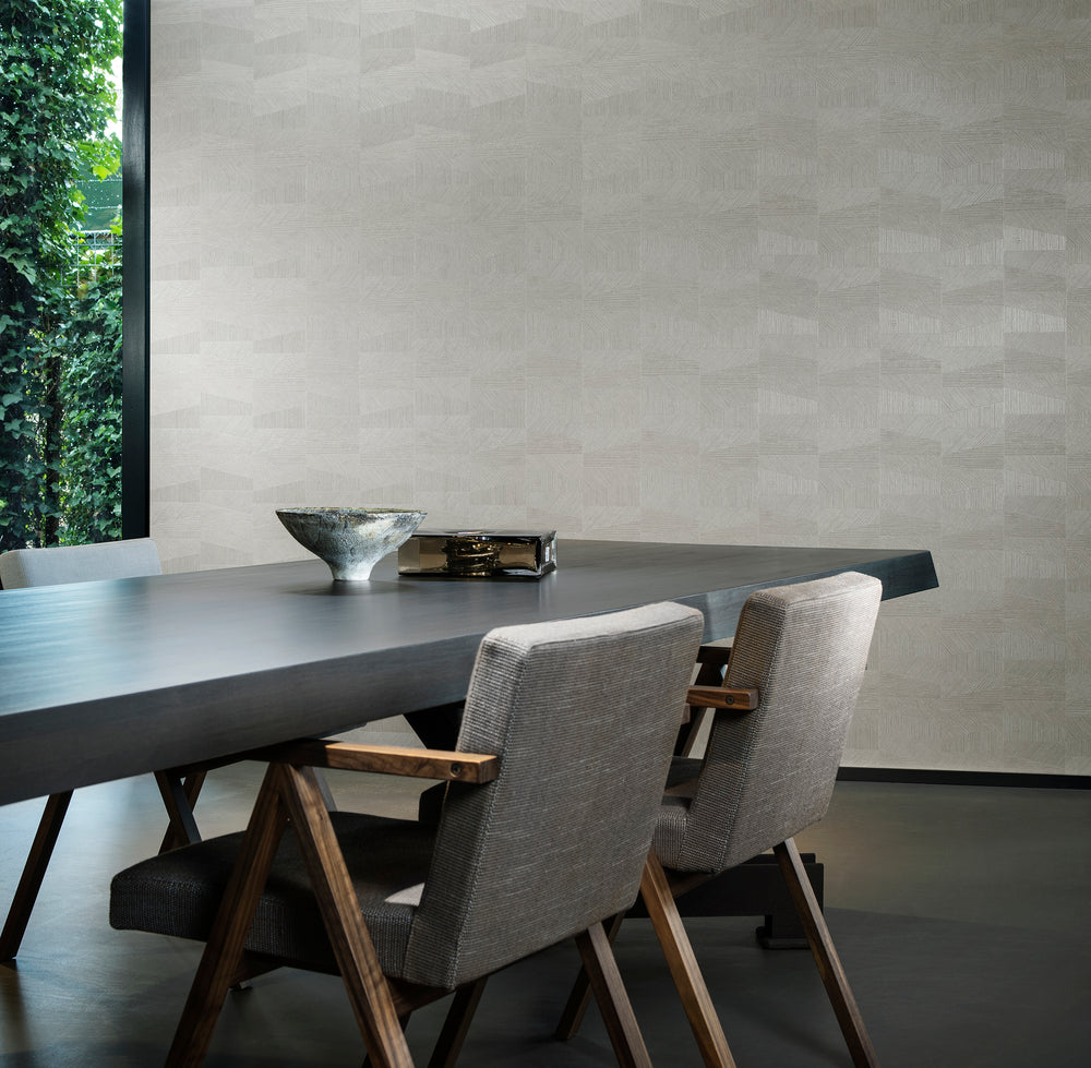 sophisticated dining room wallpaper