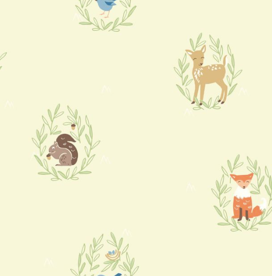 forest creature wallpaper