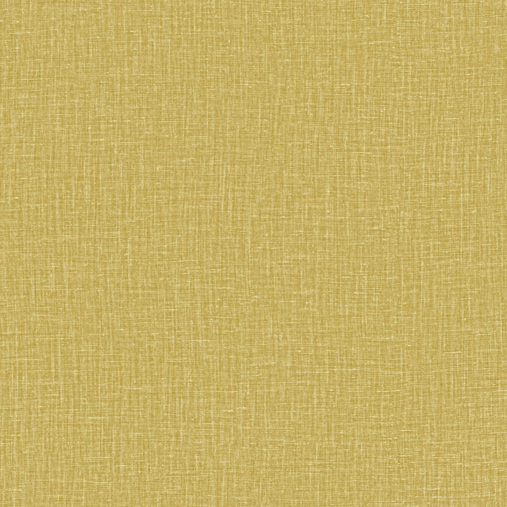 mustard linen like vinyl wallpaper