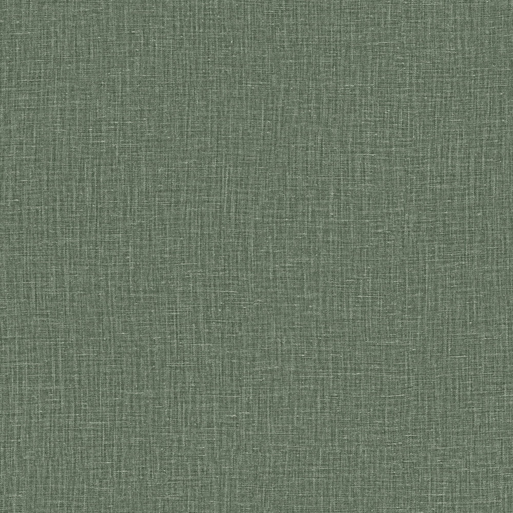 olive linen like vinyl wallcovering