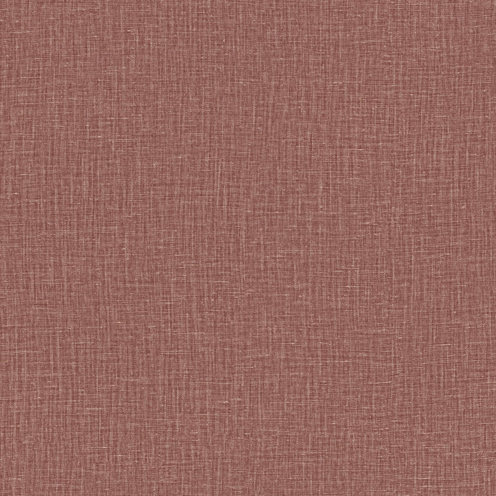 red linen like vinyl wallpaper