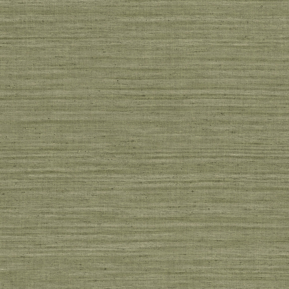 olive linen like vinyl wallpaper