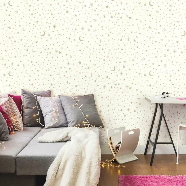 removable star wallpaper