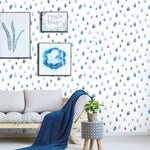 raindrop removable wallpaper