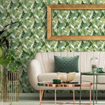palm leaf removable wallpaper