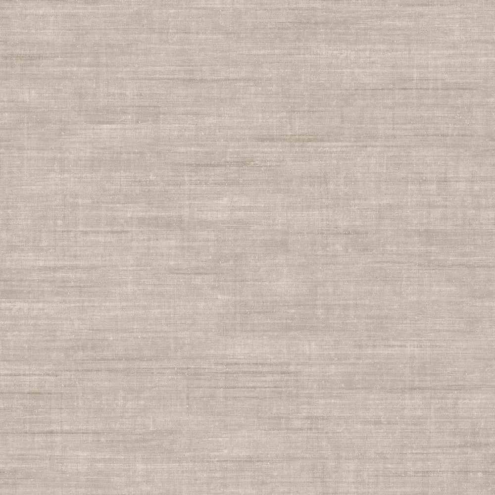 taupe linen like vinyl wallpaper