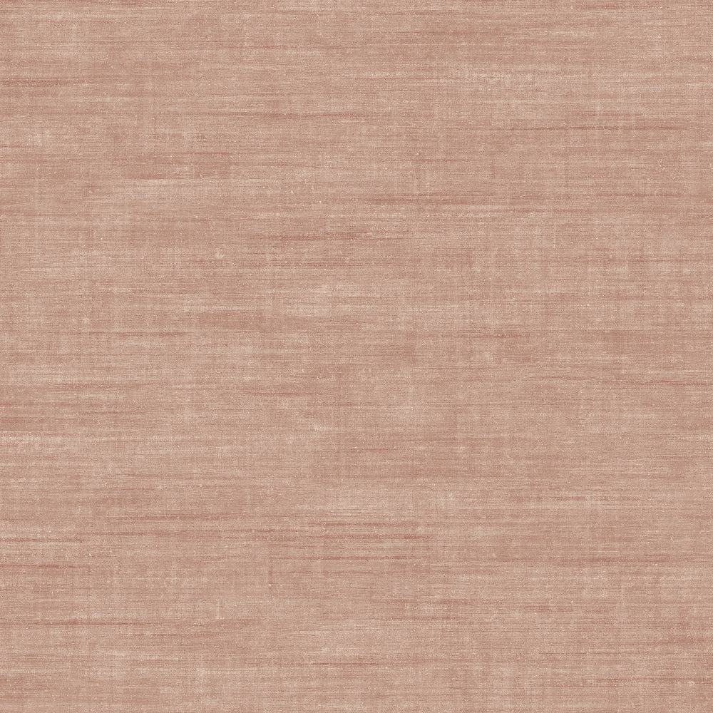 coral linen like vinyl wallpaper