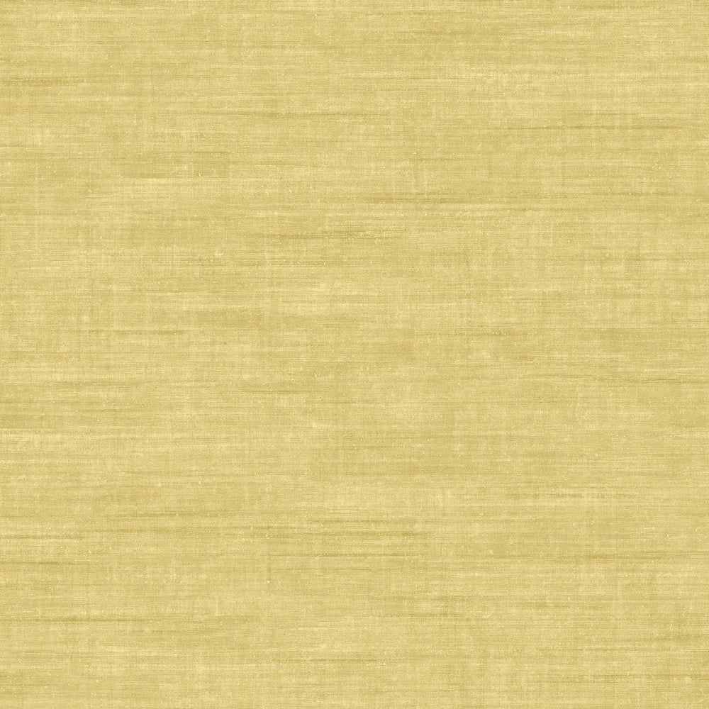 yellow linen like vinyl wallpaper