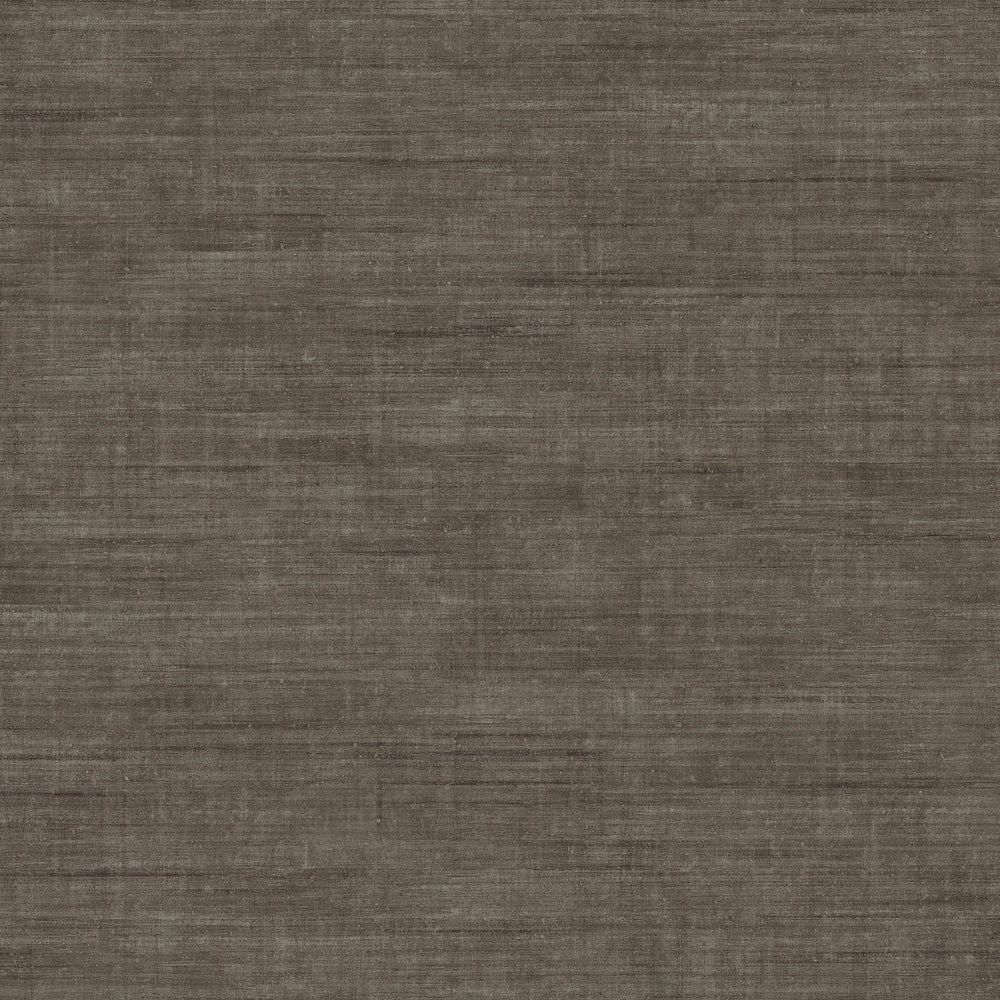 Walnut linen like vinyl wallpaper