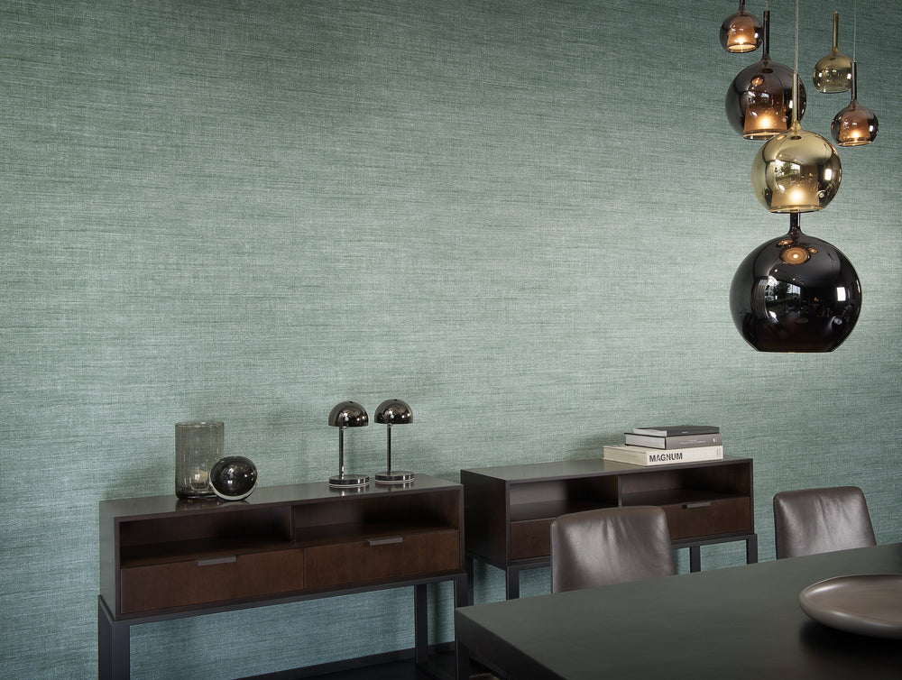 chic linen texture vinyl wallpaper