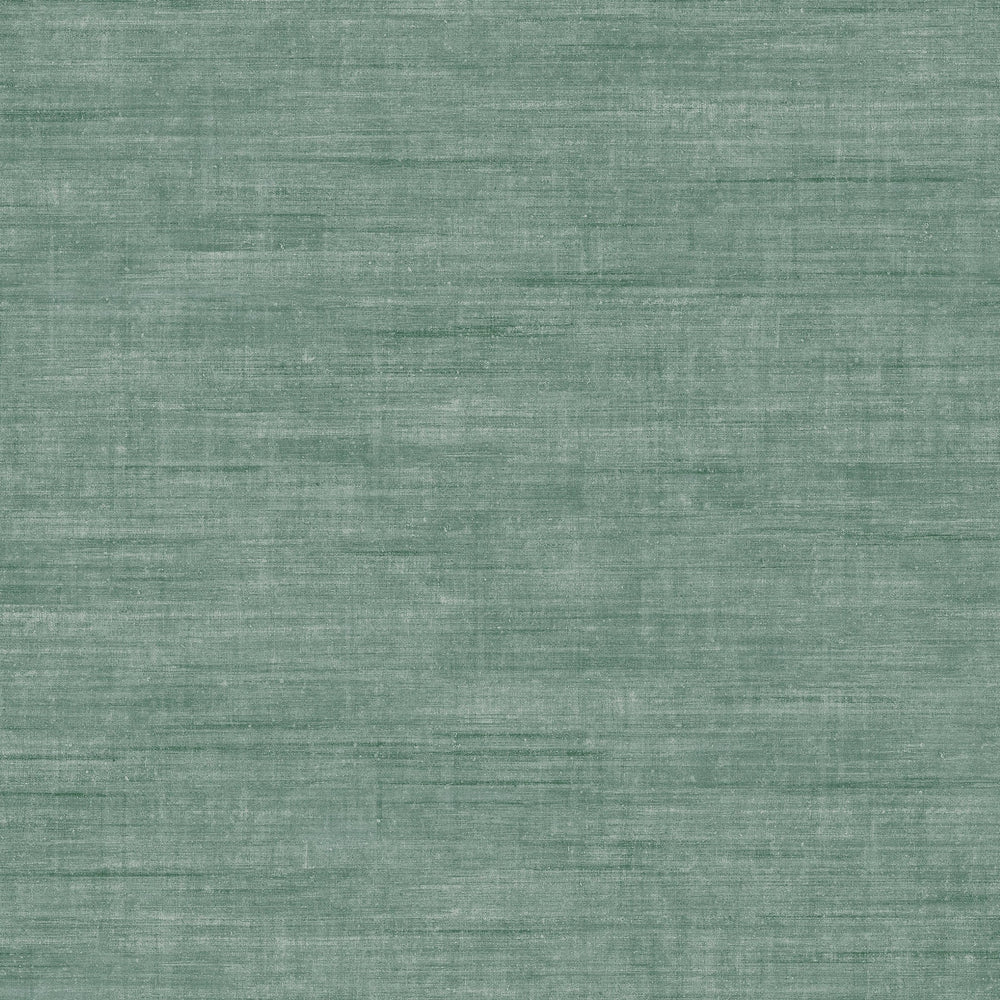 teal linen like vinyl wallpaper