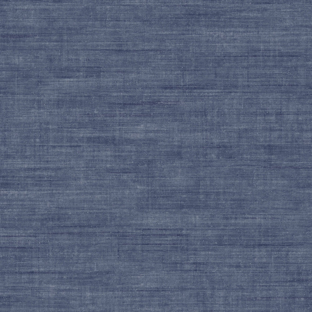 navy linen like vinyl wallpaper