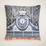 Clock Throw Pillow