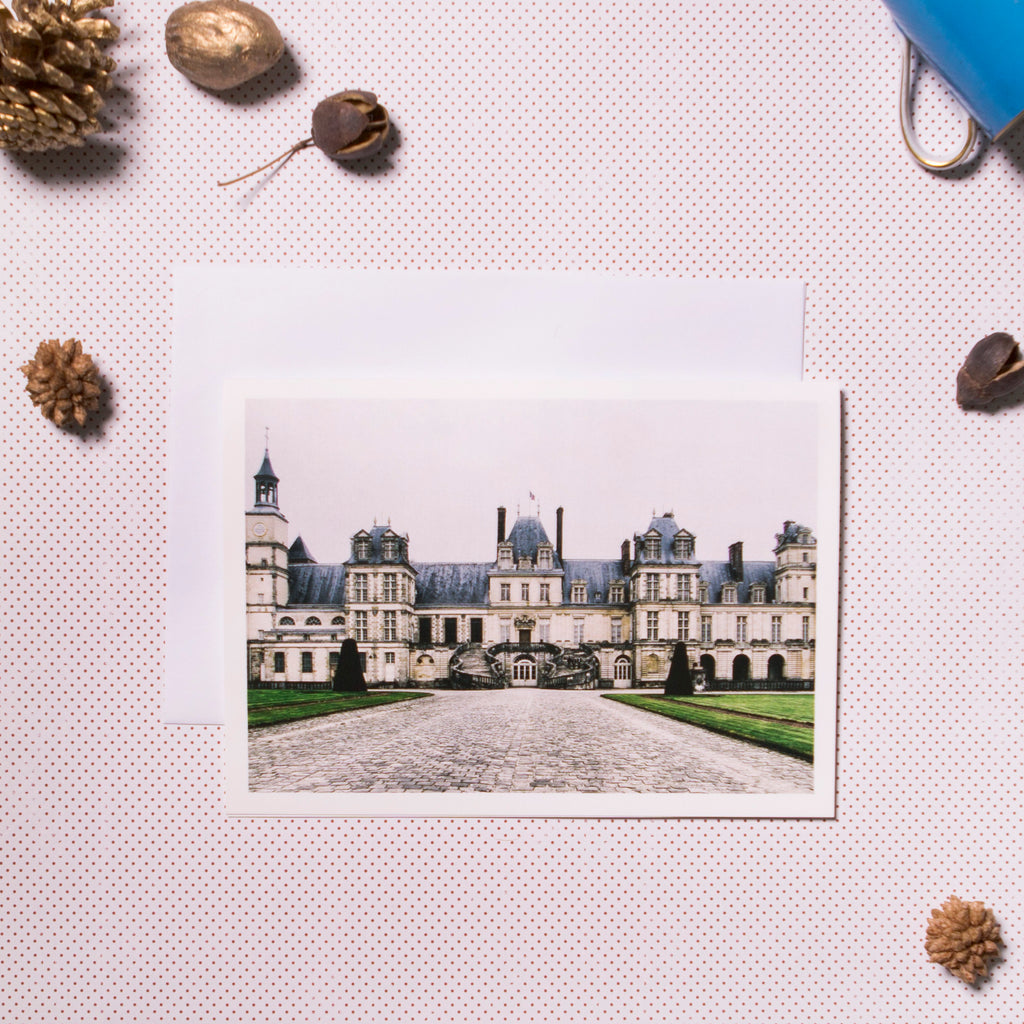 Chateau de Fontainebleau Greeting Card