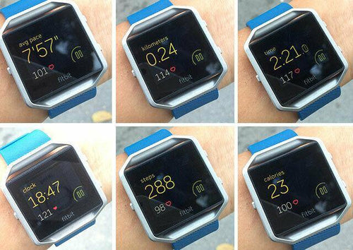 fitbit blaze fitness tracker watch graded - Manortel