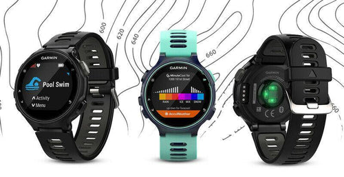 Garmin Forerunner 735 Multisport GPS Watch with integrated HRM -  GRADED - Manortel