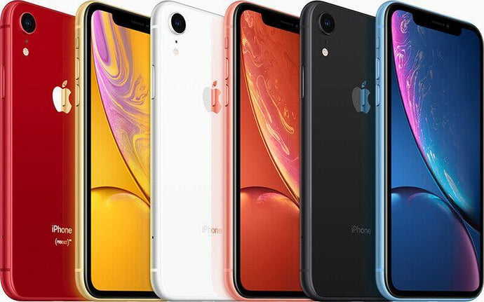 Apple iPhone XR  - 64GB 128GB - Unlocked SIM Free Smartphone GRADED - Manortel