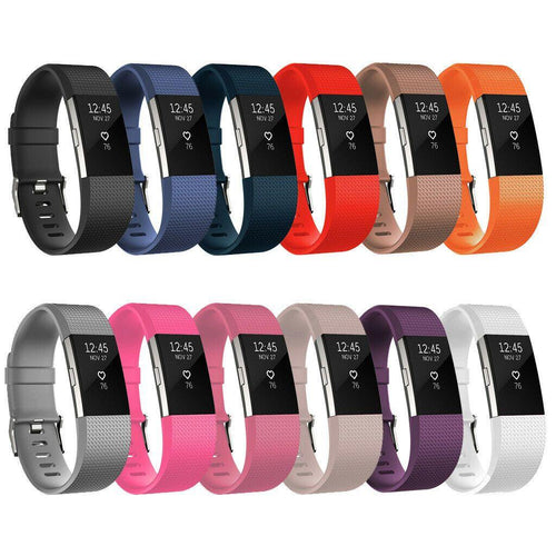 Fitbit Charge 2 Fitness Watch Removable Wristband GRADED - Manortel
