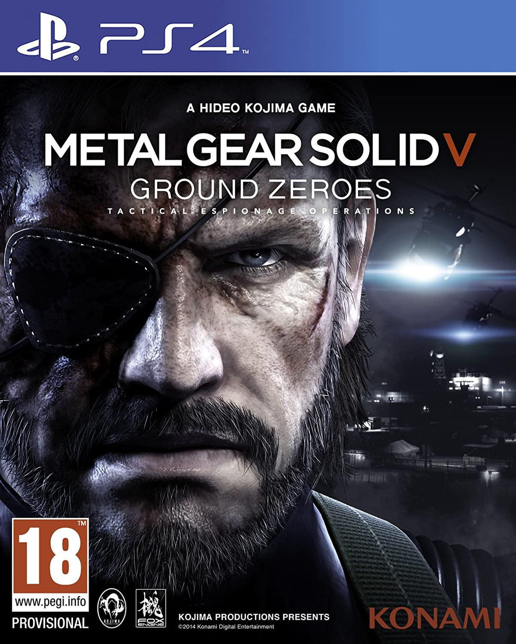 MENTAL GEAR SOLID V PS4 GAME BRAND NEW WITH SEALED PACK. - Manortel