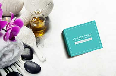 Moor Bar SINGLE With Peppermint & Green Tea Extract (1 x 50g Bar)