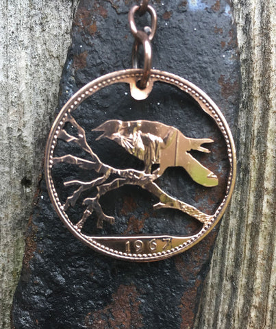 Crow on a Branch - Cut Coin - The Forger - 1