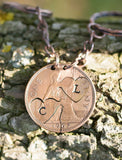 Hearts as one  - Personalised Cut Coin