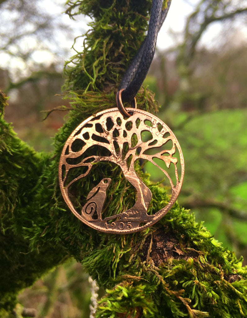 Tree gazing Hare - Cut Coin - The Forger - 1