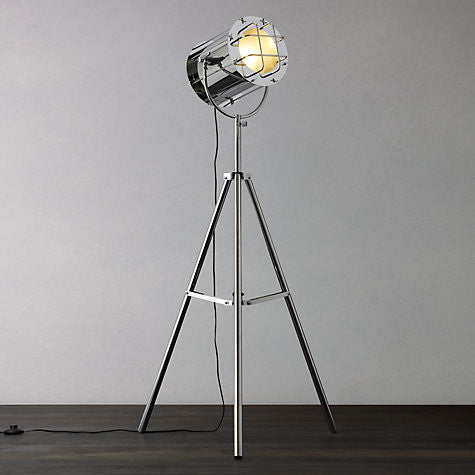 Studio Chrome Floor Light