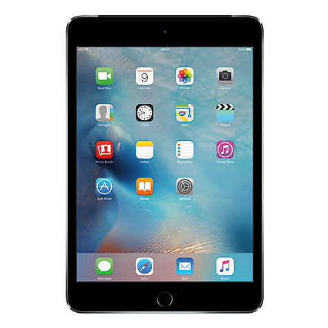 "New Apple iPad mini 4, Apple A8, iOS 9, 7.9"", Wi-Fi, 64GB, Space Grey"