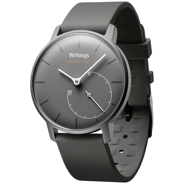 Withings Activité Pop Activity & Sleep Tracking Watch, Shark Grey