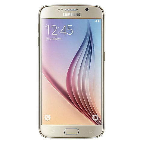 "Samsung Galaxy S6 Smartphone, Android, 5.1"", 4G LTE, SIM Free, 32GB, Gold"